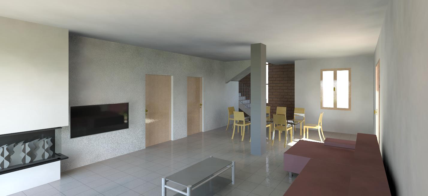 Render d'interni